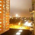 Widok z balkonu:) #bloki #most #noc #osiedle #światła
