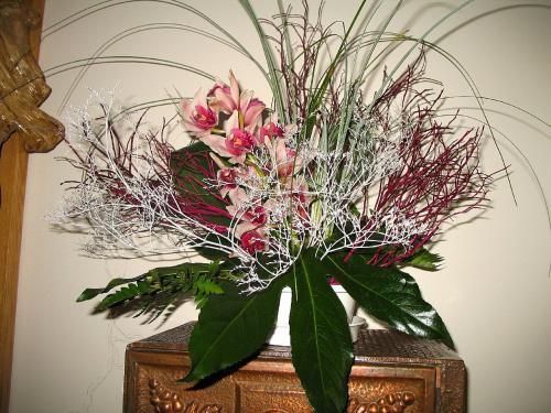 Bukiet - wszystkie są zrobione przeze mnie #bukiety #storczyki #orchidea #kościół