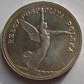 5 zł Nike 1928r. ( bez znaku mannicy ). #monety #numizmatyka