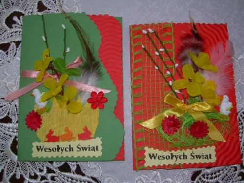 Kartki świąteczne #RĘKODZIEŁOARTYST