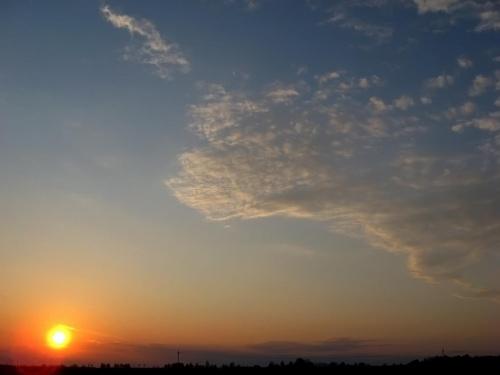 zachód #zachód #niebo
