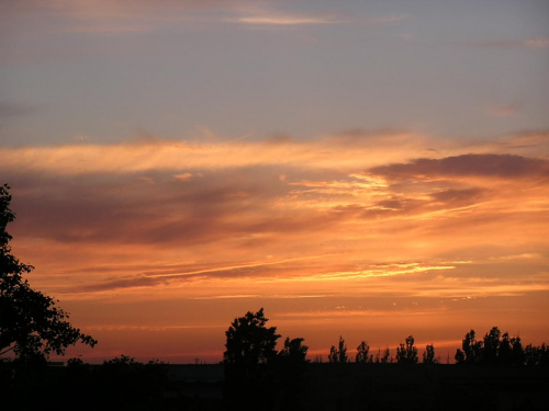 Zar zachodu slonca #ZachódSłońca #słońce