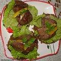 Grzanki razowe z wątróbką drobiową .Przepisy na : http://www.kulinaria.foody.pl/ , http://www.kuron.com.pl/ i http://kulinaria.uwrocie.info #przekąski #grzanki #kanapki #WątróbkaDrobiowa #jedzenie #kulinaria #śniadanie #kolacja #gotowanie