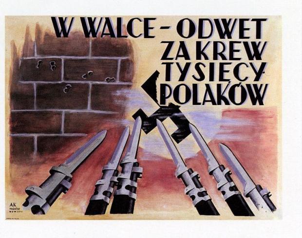 plakaty powstancow