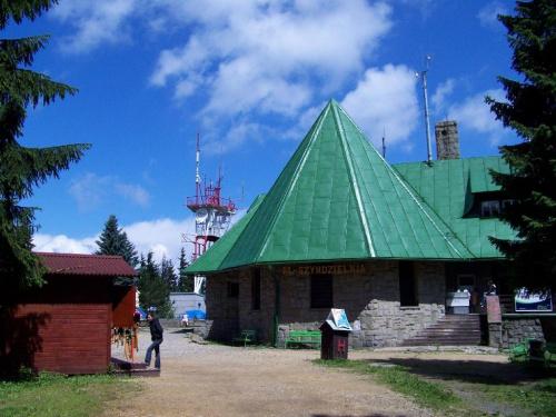 Widok na kolejke od strony Klimczoka