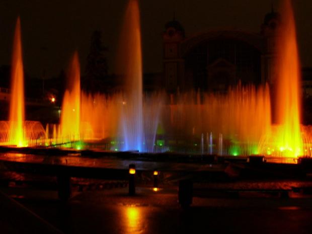 Krizikova Fontana zaprojektowana przez czeskiego pioniera elektryczności #Praga