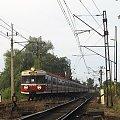 30.07.2008 EN57-1077 + EN57-1078 + EN57-1528 wjeżdża do Kostrzyna jako pociąg specjalny 48801 z Katowic. #Woodtock #specjalny #dodatkowy #EN57 #Kostrzyn
