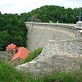 Zapora na Jeziorze Pilchowickim #rower #DolinaBobru #JezioroPilchowickie #zapora #tama