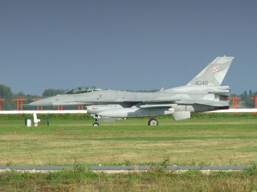 F-16 C, Poznań - Krzesiny, EPKS, 01.09.2008 #Poznań #Krzesiny #EPKS #samolot #samoloty