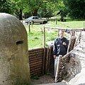 Świnoujście-Jacek przed wejściem do Fortu Gerharda. #wakacje #urlop #podróże #zwiedzanie #militaria #fortyfikacje #bunkry #Polska #Świnoujście