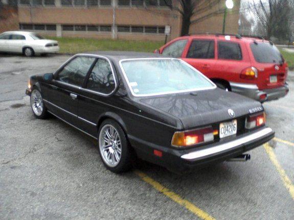 bmw e24. 1986 BMW e24 635csi, TURBO
