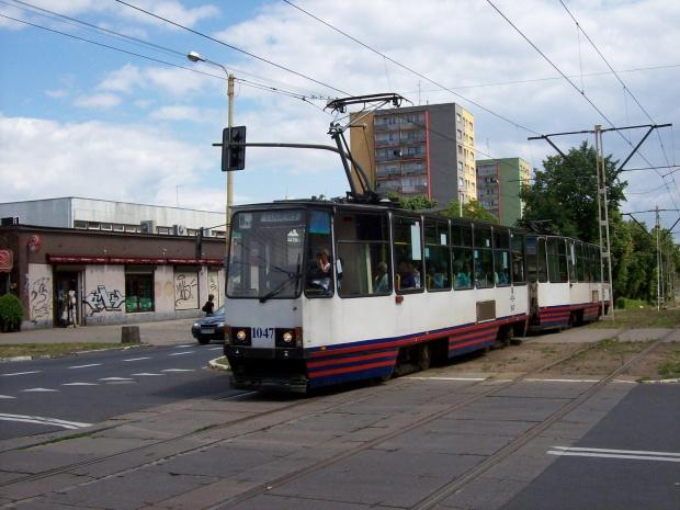 105N 1047+1048 #Tramwaje #szczecińskie