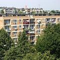 #Miasto #bloki #budynki #drzewa