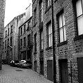 boczna uliczka... #Huddersfield #uliczka