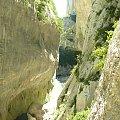 Cud przyrody - Grand Canyon du Verdon #CanionDuVerdon #Francja #Prowansja