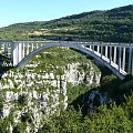Grand Canyon du Verdon, Ponte d'Artuby ( 100 m most) #CanionDuVerdon #Francja #Prowansja