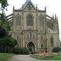 Kutna Hora - gotycka katedra #KutnaHora #średniowiecze #gotyk #kościół #katedra #perła #Czechy