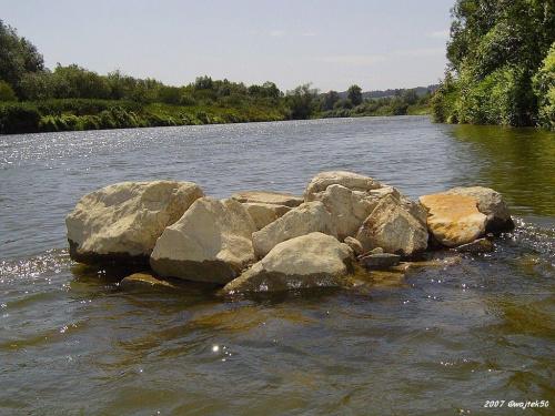 ... wysepka ..... #lato #rzeka #San