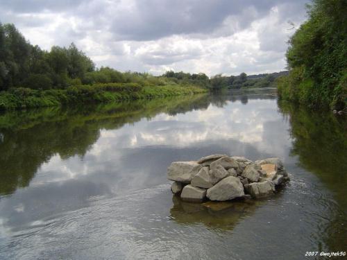 ... w pochmurne popołudnie... #lato #rzeka #San